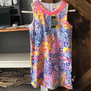 NWT Girls Lilly Pulitzer Shift Dress Size 10